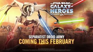 Star Wars: Galaxy of Heroes – Separatist Droids Strike Back!