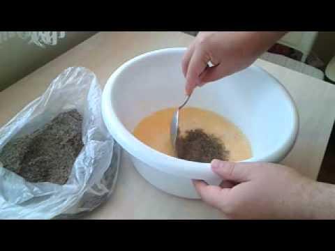 как запарить жмых для рыбалки в домашних условиях