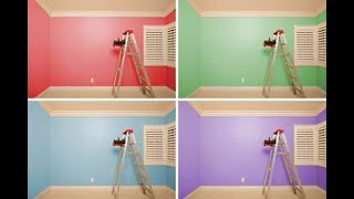 (6.10 MB) 40 Home Painting Colors Design Ideas | Booth Tips And Tricks Sprayer Technique DIY Tutorial 2018 Mp3