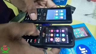 Jio Phone Unboxing and review in Hindi