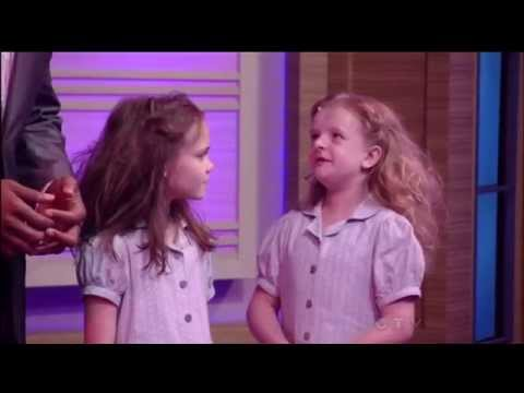 Four Matildas from Broadway's Matilda the Musical perform on Live with Kelly and Michael