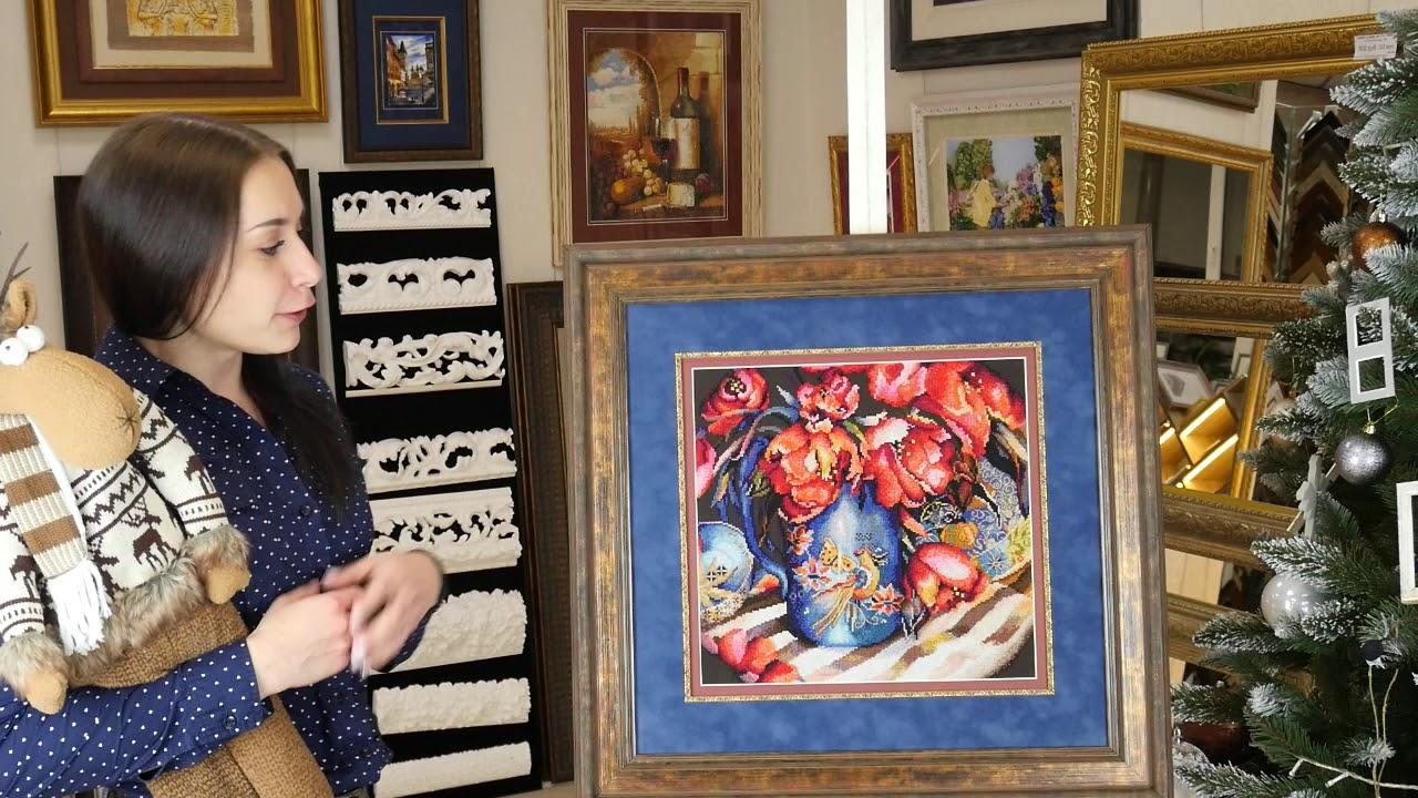 Вышивка крестом выставки готовых работ 8