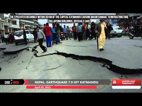 FIRST IMAGES EARTHQUAKE 7.9 HIT NEPAL TODAY APRIL 25, 2015