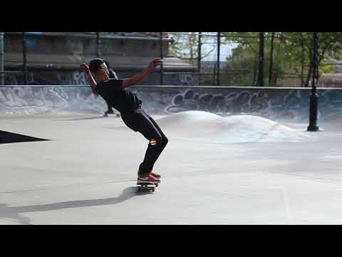 Andre Beverly 6 Piece at LES Skatepark