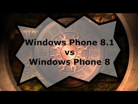 Windows Phone 8.1 vs Windows Phone 8