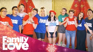 "ABS-CBN Christmas Station ID 2018 ""Family Is Love"" Recording Lyric Video"