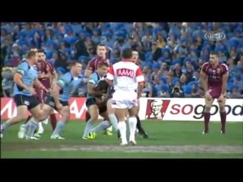Paul Gallen vs Nate Myles Fight | State of Origin Game 1 [2013]