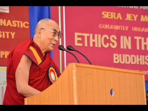 HH Dalai Lama's Talk on Ethics for the New Millennium Part   1