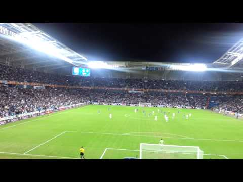 Israel vs Bosnia 16.11.2014 - After 2nd Goal to Israel