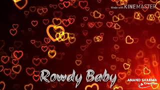 Rowdy Baby || Dhanush || Tamil WhatsApp Status || Anand Sharma Creative