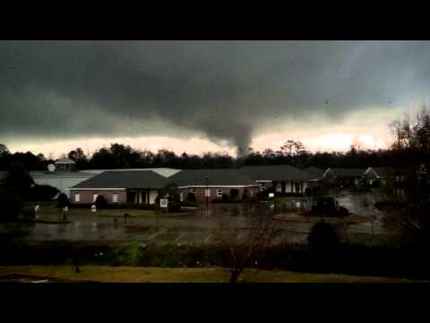 Tornado up close. Hattiesburg Ms.