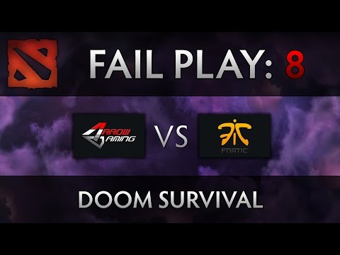 Dota 2 TI4 Fail Play - Arrow vs Fnatic - Doom Jukes