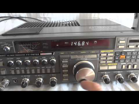 Yaesu FT-767GX all mode HF SSB HAM radio