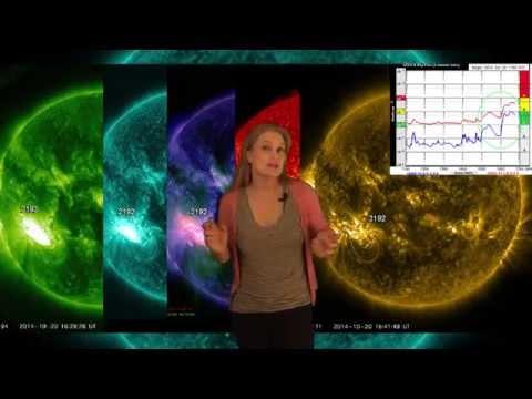 Solar Storm Forecast 10-22-2014