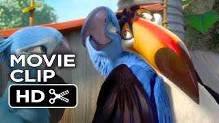 Rio 2 Movie CLIP - Amazon Or Bust (2014) Jesse Eisenberg, Anne Hathaway Animated Movie HD