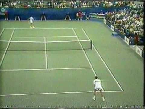 Ivan レンドル vs Jimmy コナーズ 全米オープン 1987