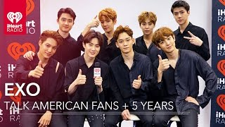 Download Lagu EXO on American Music + Inspiration to Fans | Exclusive Interview Gratis STAFABAND