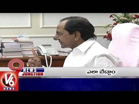 9PM Headlines | Yeddyurappa To Take Oath | CM KCR Meeting With Employee Unions | V6 News