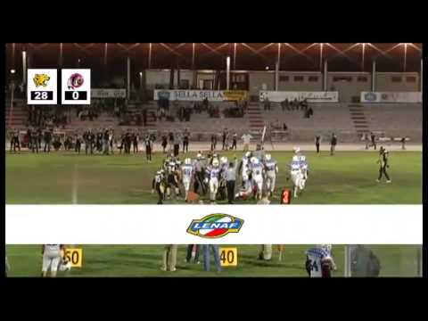 Lenaf 2013 Week 9: Redskins VR (0-5) @ Giaguari TO (5-1) Secondo Tempo