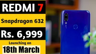 Redmi 7 price & Launch date in India| Specification & First look | Launching with Redmi Note 7 Pro.