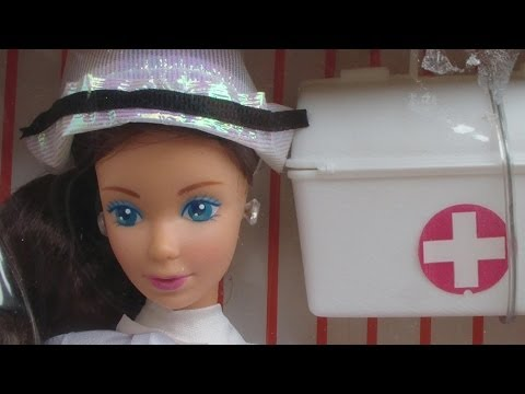 Whitney Nurse Barbie 1987