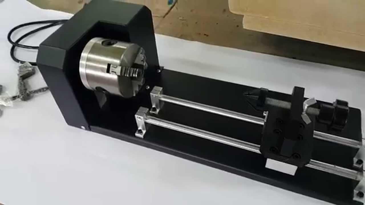 Поворотное устройство для лазерного гравера