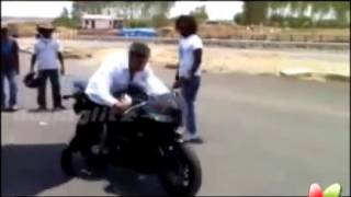 ajith first mangatha Race(test drive)