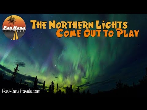 RV Alaska: Northern Lights come out in Wrangell St Elias NP - RV Life