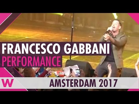 "Francesco Gabbani ""Occidentali's Karma"" (Italy 2017) LIVE @ Eurovision in Concert"