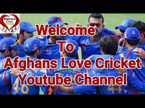 Afghans Love Cricket Youtube Channel New Intro | New Intro For My Youtube Channel How Is This Intro?