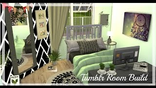 The Sims 4 | Tumblr Room Build