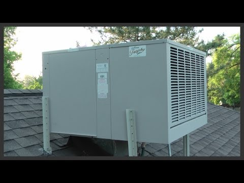 how to use a swamp cooler