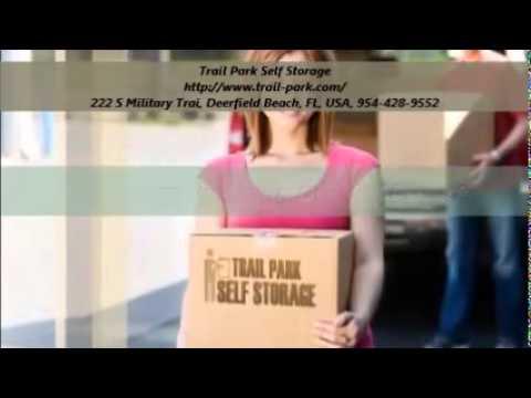 Trail Park Self Storage Units Service in Deerfield Beach