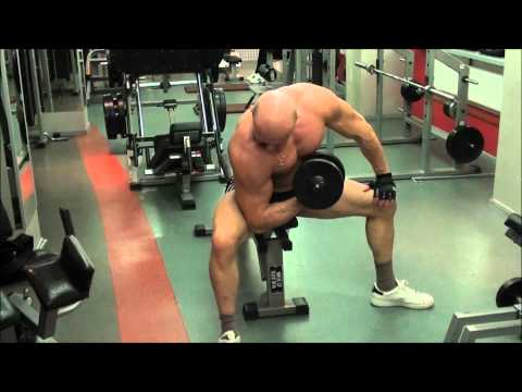 Программа упражнений с гантелями в домашних условиях. Накачать грудные мышцы, бицепс, пресс, дельты.