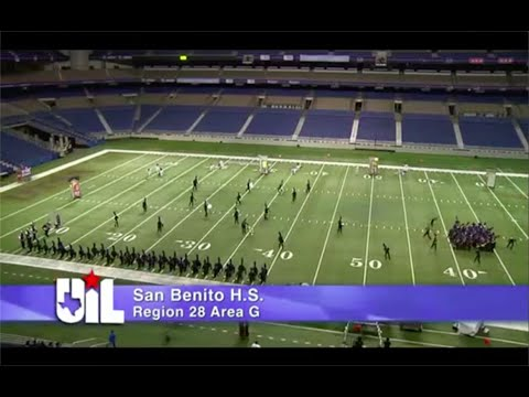 San Benito High School-UIL State Marching Band Contest 2012