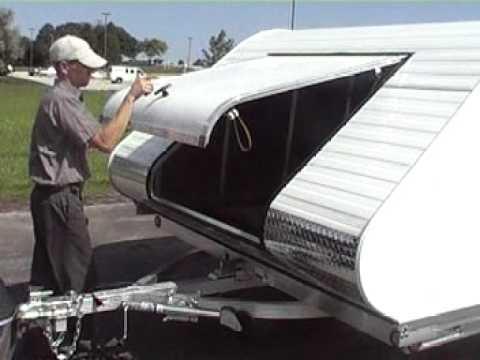Triton Xt10 101 All Aluminum Snowmobile Trailer Tilt Bed