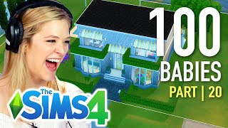 Single Girl Chooses A Fan's House For Her Babies In The Sims 4 | Part 20