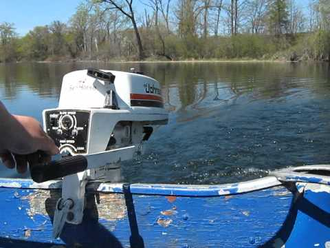 1979 Johnson 2hp Outboard Motor Youtube