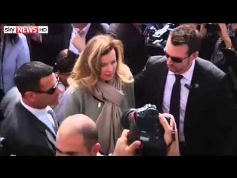 Francois Hollande Leaves Valerie Trierweiler