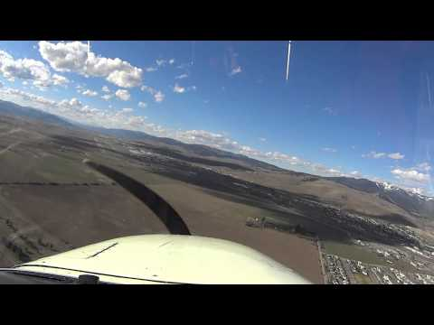 Video of me landing runway 29 at KMSO (Missoula, Montana) on 3/27/2015 after a very bumpy filght.