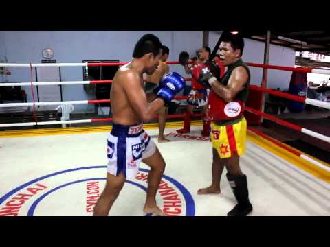 Pornsaneh Sitmonchai Focus Mitts Boxing Training Image 1
