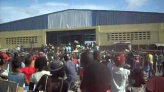 Gonaives Haiti Food Distribution After Hanna 2