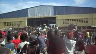 Gonaives Haiti Food Distribution After Hanna 2