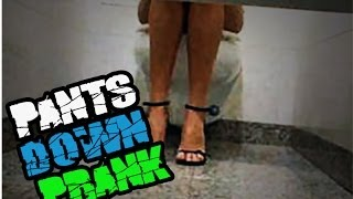 Caught with his Pants Down - PRANK IN BRAZIL