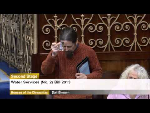 Newstalk Luke Ming Flanagan Produces Piss Water To Minister In Dail video