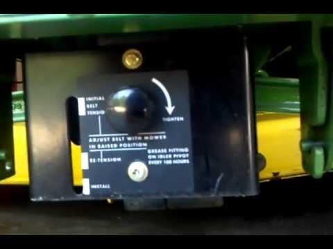 John Deere 140 and 318 garden tractors
