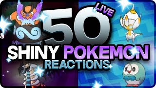 50 EPIC SHINY POKEMON REACTIONS! Pokemon Ultra Sun and Moon Shiny Montage! Best Shiny Reactions!