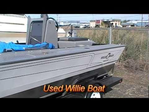Used willie boat at fish rite boats youtube for Fish rite boats