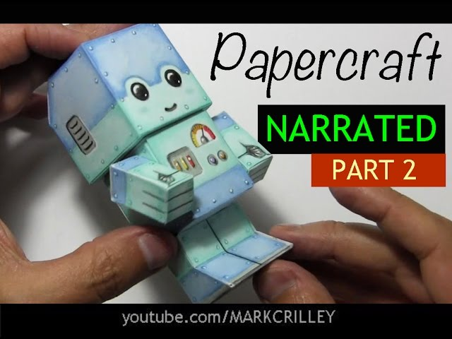 How to Make a Paper Craft Chibi Robot: PART 2