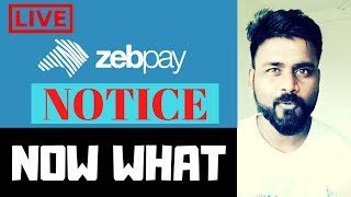 ZEBPAY ANNOUMCEMENT TODAY - ARE INDIAN EXCHANGES CLOSING DOWN?